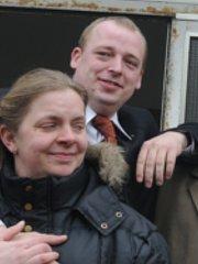Rudolf Bargmann und Freundin Ivette Fähnemann