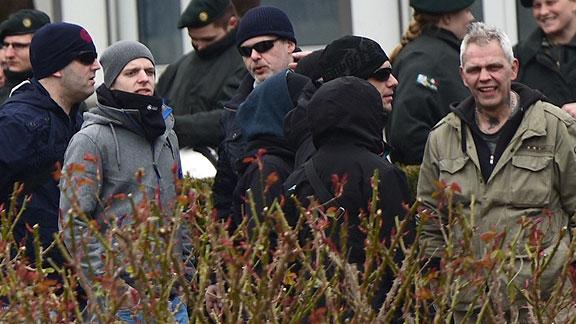 """Teile der Bremer Gruppe von """"Gemeinsam Stark Deutschland"""""""