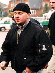 Thomas Brünings (beim Naziaufmarsch 2000 in Weyhe)
