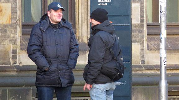 Mirco Unger und Andreas Hackmann