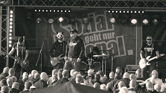 Nahkampf auf der Bühne
