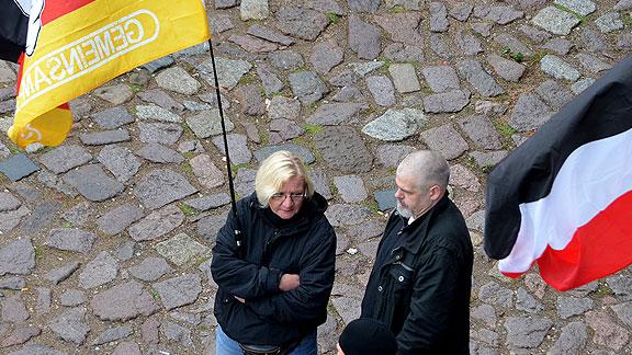 Kerstin Sager und Michael Hampe in Dresden (Oktober 2016)