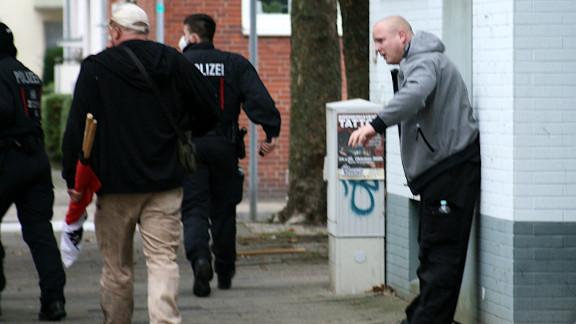 Mirco Ohmann findet Antifa-Begegnung zum heulen