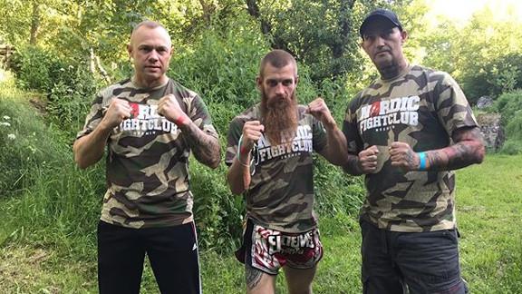 Teile des Nordic Fightclub, von links nach rechts: Dennis Dollberg, Andre Bostelmann, Christian Steiner.