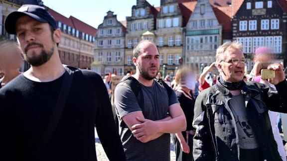 Von links nach rechts: Dave Sander, Nico Jürgensmeier, Hans-Christian Göttsche